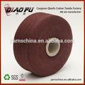 Gran cantidad de stock de hilados de algodón reciclado fabricante de hilados de/hilados pc 50/50