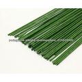 XQ papel de cor verde / branco coberto fio / florista haste de arame / árvore de natal fio de ligação,