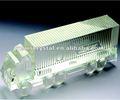 La llegada de cristal modelo de carro de camiones para el transporte de cristal con los modelos grabado(r- 1042