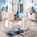 casa de estilo mediterráneo traje de muebles
