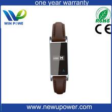 Unisex andropid codoon gordo exercício topo silício pulseira de relógio inteligente Bluetooth / melhor silício pulseira intelige
