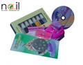 Colores uñas bricolaje Impresión Arte patrón de la impresora del clavo de la máquina que estampa el sistema del arte