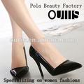 clásico diseño de zapatos de señora de la oficina pj3071