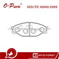 Pastillas De Freno 04465-26050 04465-YZZAC De China Auto Chasis Repuestos Para Japónes Toyota Hiace Hilux