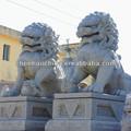 escultura de piedra de la escultura de los animales