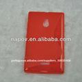 nova china 2014 linha s tpu telefone celular para nokia caso xl