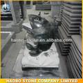 precio barato natural de piedra de granito jardín de peces de la escultura