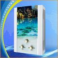 panel de cristal del calentador de agua instantáneo para la ducha del baño sin tanque