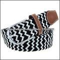 tela tejida cinturón excelentes cinturones trenzados