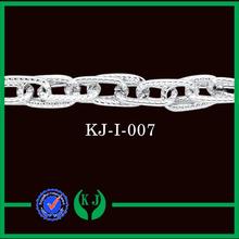 Nuevo diseño de plata anodizado cadena