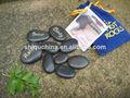 9 piezas conjunto natural de basalto masaje con piedras conjunto