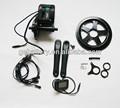 48v 500w 8 diversión/bafang/bafun central motor eléctrico impulsado/la manivela del motor kit