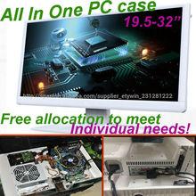 """Todo en un solo de pc con 27"""" monitor led para el pc todo-en-uno de bricolaje de hardware, juegos de ordenador"""