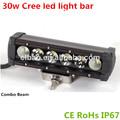 Bombilla led 5w, led 5w, los accesorios del coche led barra de luz, 30w cree led de luz de conducción
