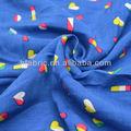 la impresión de diferentes 60s tejido de rayón viscosa tela del vestido
