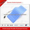 las empresas de fabricación teclado flexible de silicona