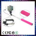 móvil de la cámara del trípode stick monopod con conexión de cable