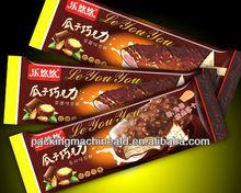 manual de chocolate de embalaje de la máquina