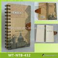 Fio de ligação de revistas e livros em branco com hot stamping wt-ntb-432