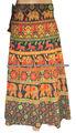 sarong saia longa algodão saia do envoltório india atacado