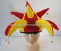 España bandera carnaval sombrero del bufón