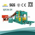 De ladrillo qt4-25 máquinas de moldeo por los precios