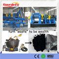 2013 venta CALIENTE! Se utiliza pirólisis de neumáticos planta de reciclaje de llantas de desecho