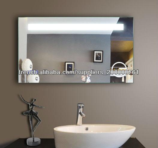 Qualit de l 39 clairage miroir salle de bain avec grande for Miroir de salle de bain avec eclairage