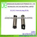 DC plug 5.5mm X 2.1mm