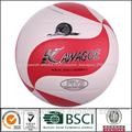 de la pu de cuero sintético laminado de voleibol