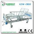 muebles para el hogar cama manual para discapacitados con guardia de seguridad rieles