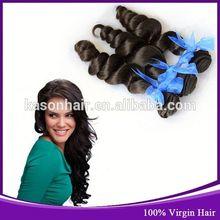 aliexpress venta al por mayor de pelo suelto mejor ola de pelo indio