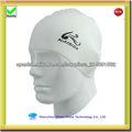 2013 nuevas gorras de natación de silicona para adultos