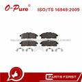 Pastillas De Freno D1060-1JA0A D1552 De China Auto Pieza Baratos Cerámica Para Nissan Quest