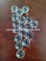 2mm pequeñas bolas de vidrio con color claro