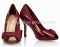 2014 Moda mujer zapatos bajos precios estilo moda