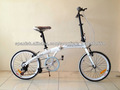 20inch bicicleta plegable, bicicleta plegable 6speeds con freno v tipo