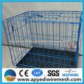 China iso9100 jaula de los animales, soldada de malla de jaulas, la cría de conejo