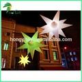 para la promoción de plástico con forma de estrella de luz led