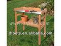 Soporte de flor/de flores de madera de la mesa