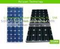 panel monocristalino 80W de la célula solar de silicio del precio barato en venta