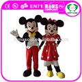 oi ce rato mickey e minnie mouse mascote fantasia