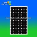 250 vatios de paneles solares