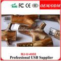 2014 promocional usb de madera,madera único unidades usb