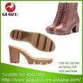 zapatos de suela de tpr