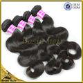 El estilo de belleza 6a 100% 3 piezas baratos 100% virgen del pelo camboyano