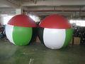 publicidad del globo inflable para la promoción de uso