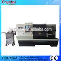 grande máquina de torno ferramenta de torno cnc económico com alimentador de barras CK6150A