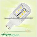 3.6w g9 led de la lámpara smd
