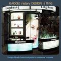 cabina de diseño moderno de madera cosméticos comercio Mostrar exposición